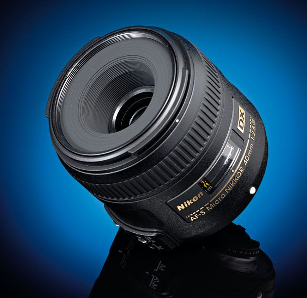 Best cheap lenses: Nikon AF-S Micro-Nikkor 40mm f/2.8G £185/$277  The Nikon 40mm f/2.8 is designed specifically for Nikon's DX-format cameras (not the full-frame models), and it's amazingly inexpensive considering it's a specialised lens from a top brand.  It has Nikon's AF-S autofocus motors built in, so the focus is fast and quiet and works on smaller Nikon D-SLR bodies that don't have autofocus motors built in. BrettGilmour.com