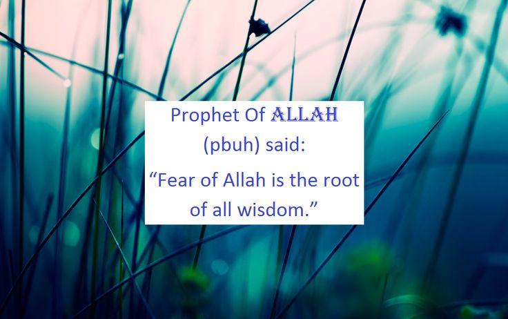 Fear of Allah (Islam)