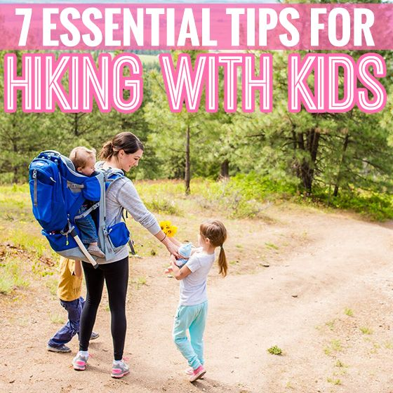 Hiking is a great way to get active outdoors this summer. Here's 7 tips for taking kids to the trails