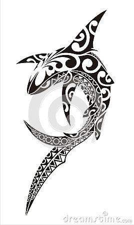 shark+tattoo | Shark Tattoo Royalty Free Stock Images - Image: 25723599