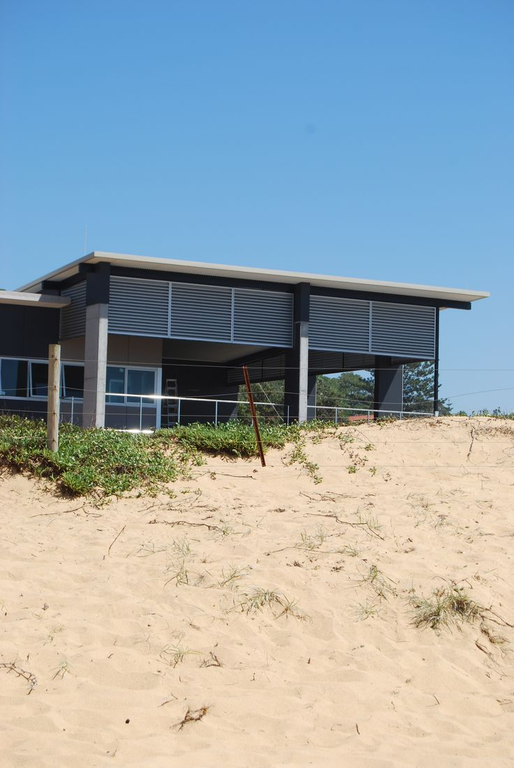 Another surf club with Ritek Roof panels which can withstand harsh coastal environments.