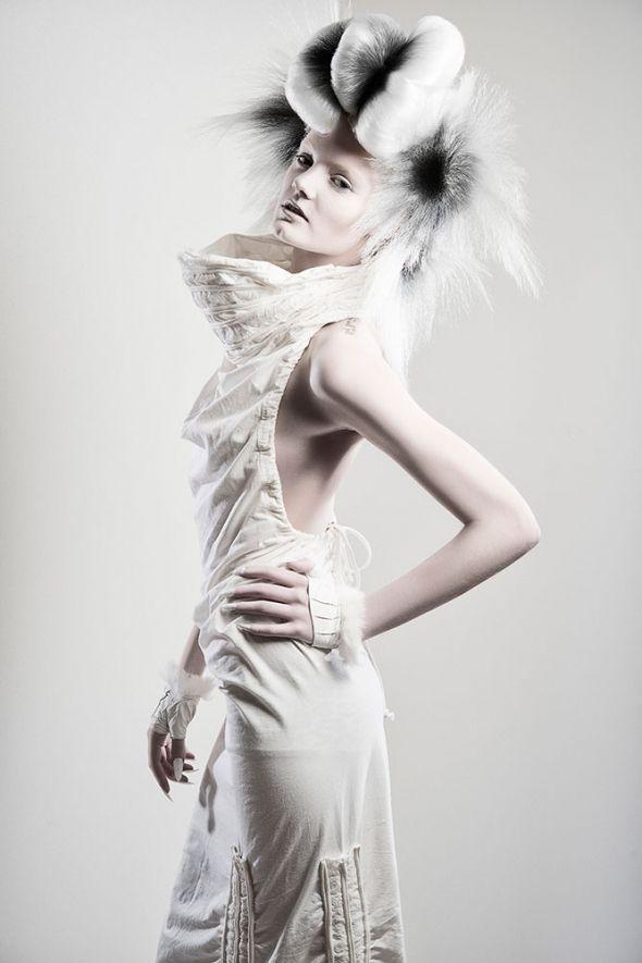 Meet the NAHA finalist Jake Thompson, White Hair, Black color, Updo, Creative style, NAHA, Competition, Finalist, Buns