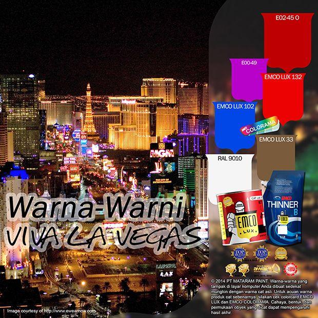 Warna-warni Las Vegas #lasvegas #color #likeforlike http://matarampaint.com/detailNews.php?n=420