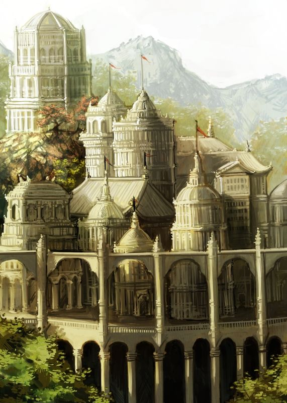 Lore of Steel - The Palace by pixieface.deviantart.com on @deviantART