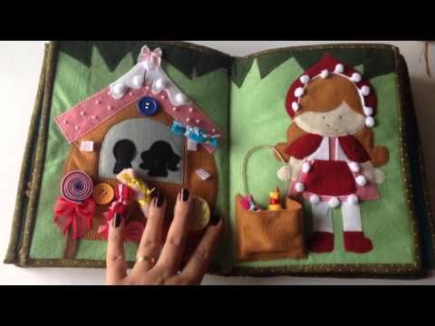 "Тиха книжка от плат - ""Рожден ден-момченце"" / Children's activity quiet book from fabric - Birthday - YouTube"