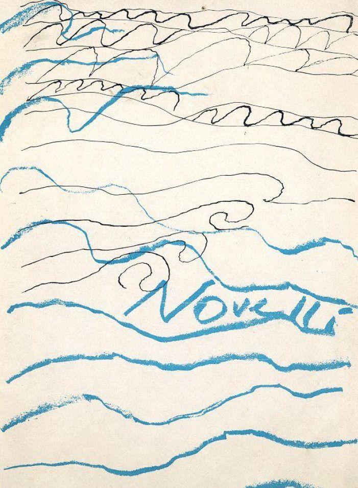 """garadinervi: """" Gastone Novelli, text by P. Klossowski, G. Manganelli., A. Giuliani, Gastone Novelli, catalogue, Il Segno, Roma, 1965 """""""