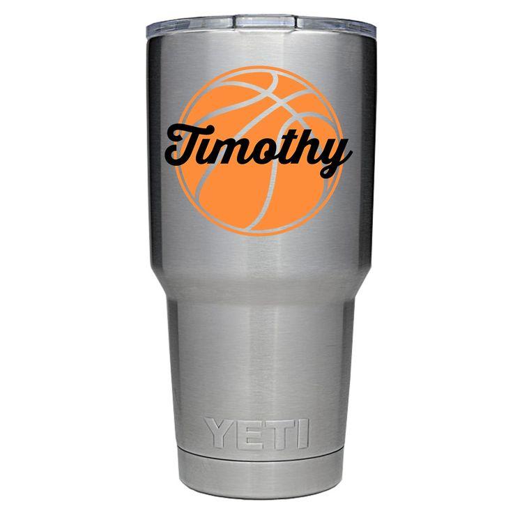 YETI 30 oz Personalized BasketBall Tumbler