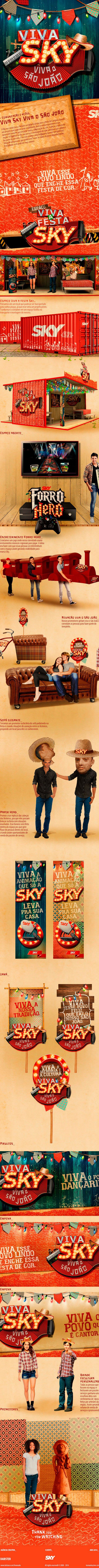 SKY // Campanha Viva Sky on Behance