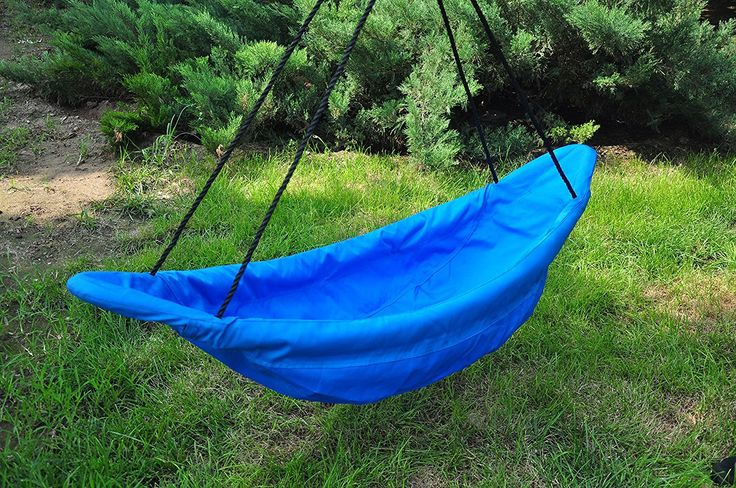 150cm Blue Canoe Nest Swing - Heavenly Hammocks