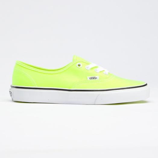 Neon Authentic 1980s skater punk Vans. RAD.: Shoes, Neon Vans, Style, Dream Closet, Color, Neon Authentic, Yellow Vans, Vans Neon, Products