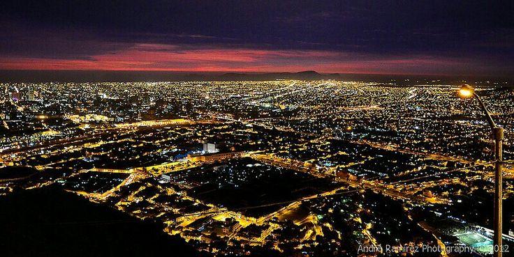 Ciudad de Lima  Vista desde el Cerro Cristobal LIMA PERÚ