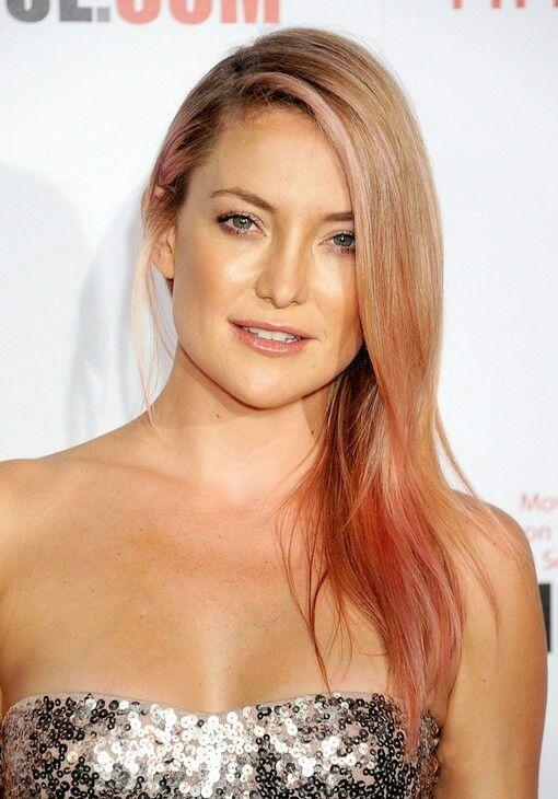Kate Hudson | Hair color pink, Rose gold hair, Beauty