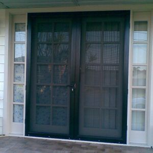 Double Screen Doors For Front Door
