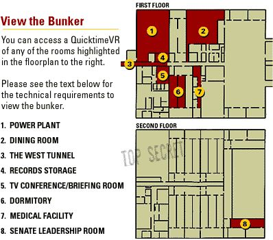 Floorplan Of Greenbrier Bunker The 100 Post Apocalyptic