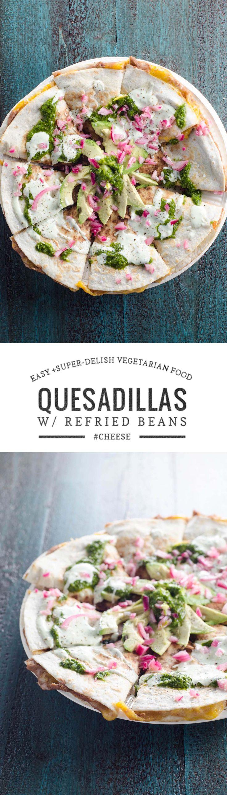 25+ bästa Vegetarian quesadilla idéerna på Pinterest ...