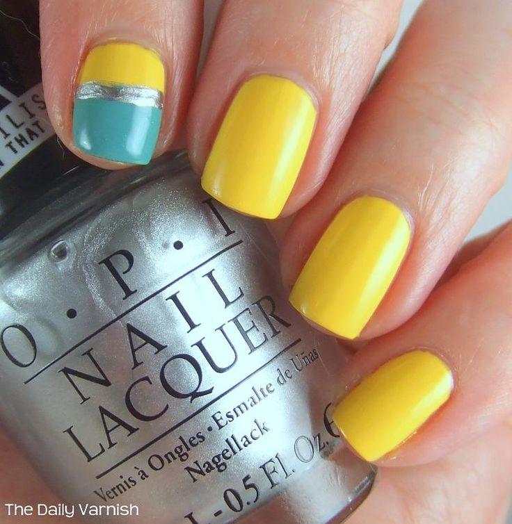 OPI Push and Shove, JulieG Canary Islands and L'Oreal Not A Cloud in Sight
