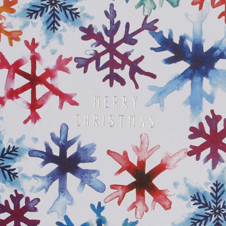 Inky snowflake charity Christmas cards - pack of 8 - 3 for 2 Charity Christmas Cards - Christmas Cards - Christmas Shop