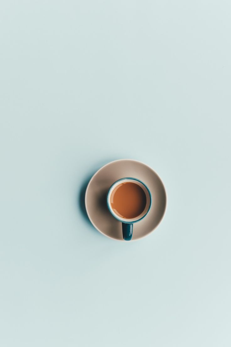 Simple product photography tea cup