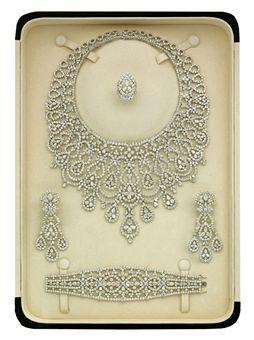 A DIAMOND PARURE, BY ELIE CHATILA