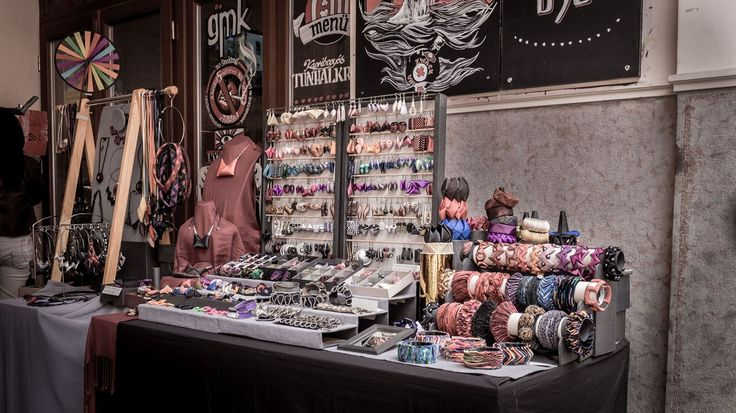 Jewelry made of several materials  http://www.budapestwithus.hu/gouba/