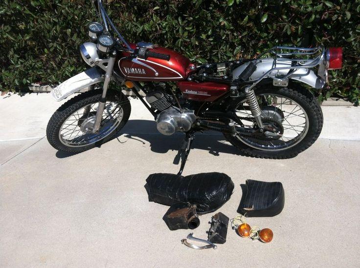 1974 Yamaha 125 DT1 Enduro | eBay