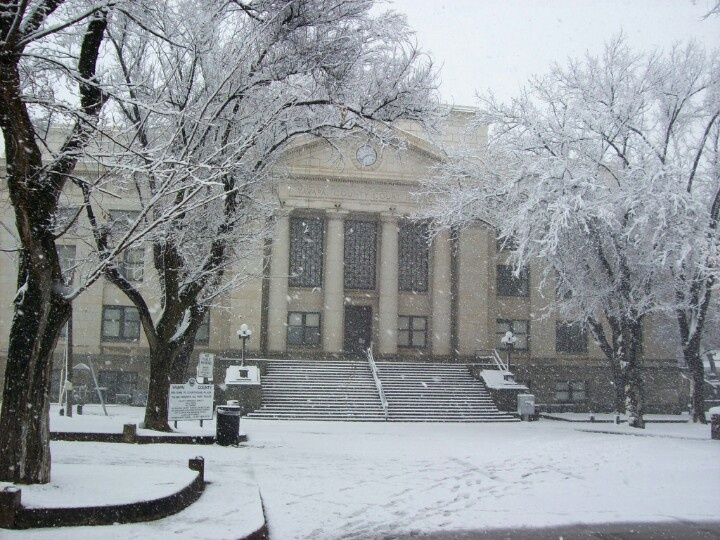 prescott az courthouse in winter snow hometown heaven pinterest snow winter snow and weather. Black Bedroom Furniture Sets. Home Design Ideas