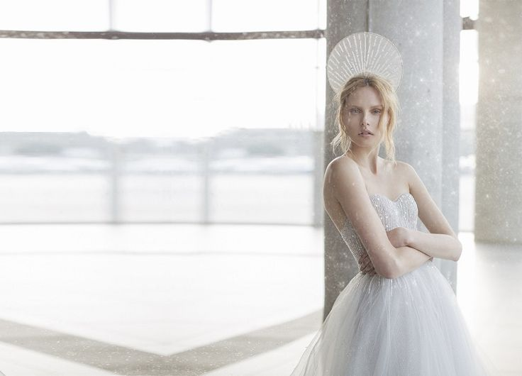 Mira Zwilinger 2016 wedding dress stardust collection astra | fabmood.com: