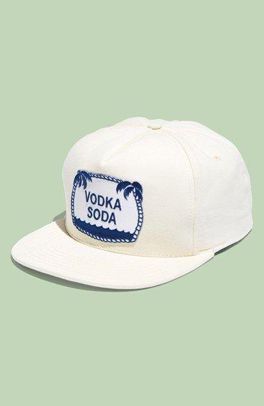 M. Carter 'Vodka Soda' Snapback Cap available at #Nordstrom