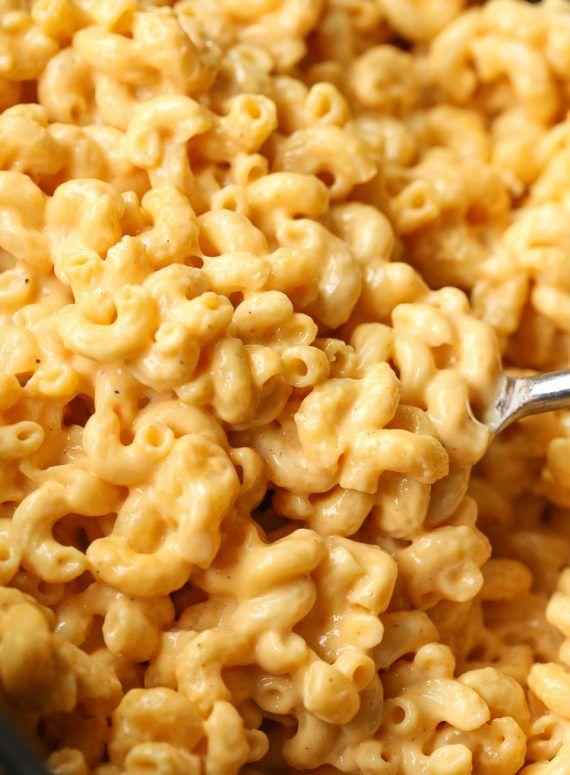 No Boil Crock-Pot Mac and Cheese
