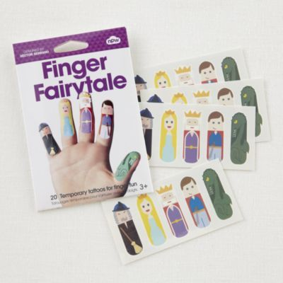 Tattoo Finger Puppets (Fairy Tale)  -- birthday parties at the Center for Puppetry Arts, Atlanta, GA