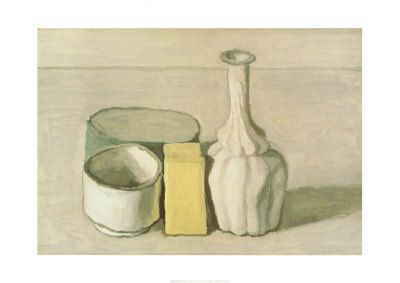 Giorgio Morandi, Natura Morta II, 1953 - love his still life work