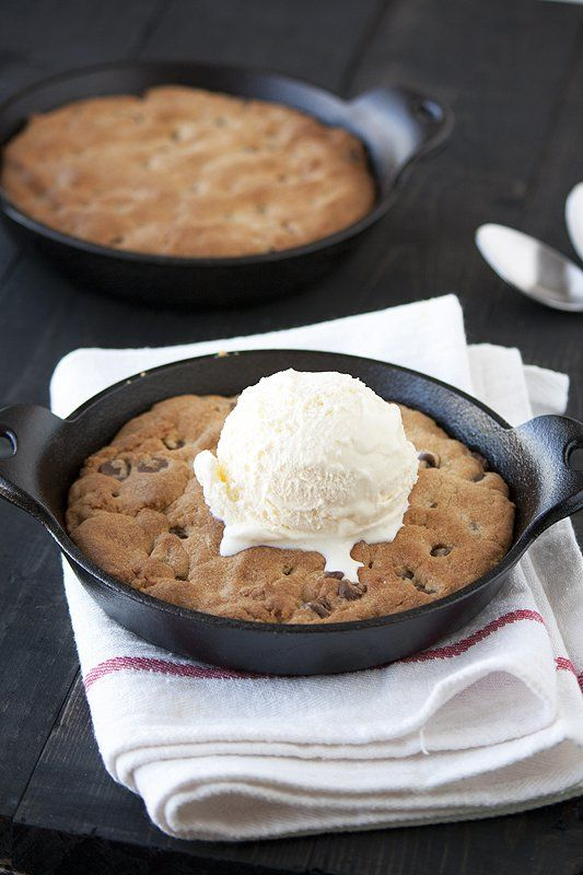 Today I bring to you heaven on earth in the form of a recipe. It's an ooey gooey chocolate chip cookie that requires a scoop of ice cream and a spoon. You can switch out the chocolate chips for anything you like and you can save all or even portions of the dough in the …
