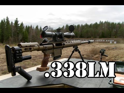 Small review of my suppressed .338 lapua magnum sniper rifle.