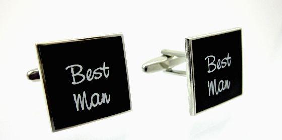 Mens Wedding Cufflinks - Best Man. Find it at www.giftedmemoriesjewellery.com.au