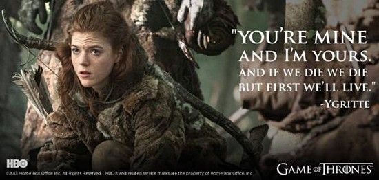Love Quotes Game Of Thrones: 25 Great Game Of Thrones Quotes