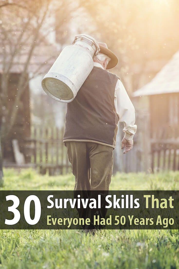 Shtf Emergency Preparedness: 30 Survival Skills Modern People Have Forgotten