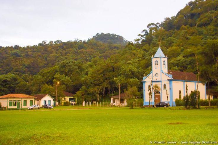 Igreja de São Sebastião na Vila de Visconde de Mauá
