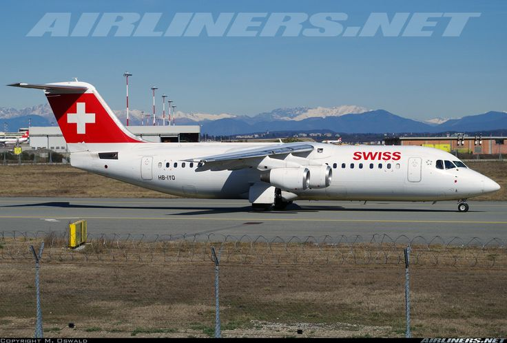 BAE Systems Avro 146-RJ100 - Swiss International Air Lines | Aviation Photo #4332939 | Airliners.net