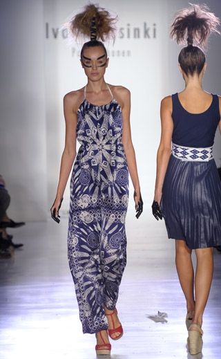 S/S 2012 Collection Indian Summer by Ivana Helsinki