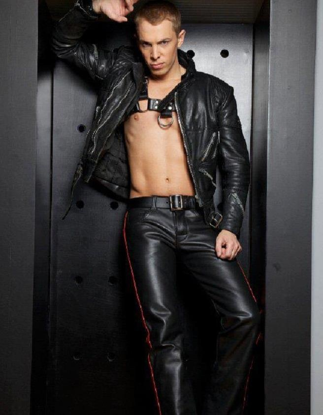 gay leather and recon