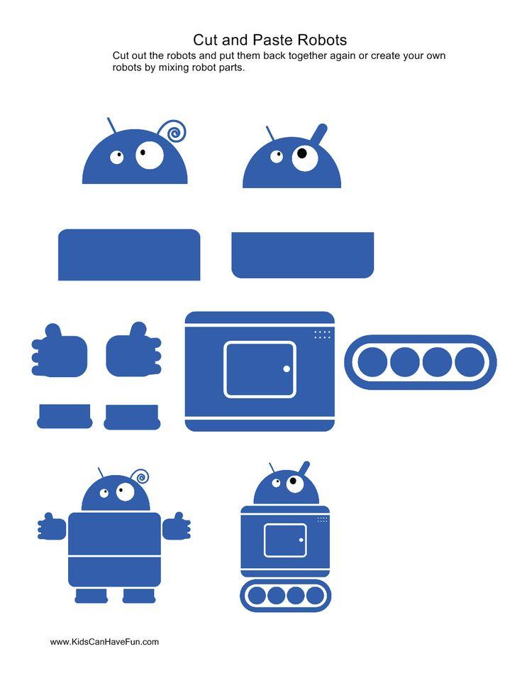 cut-and-paste-robots