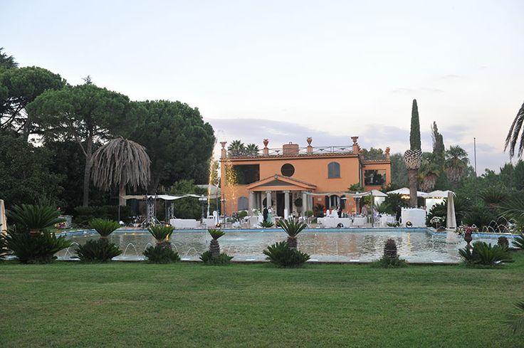 Parco privato di Villa Dino