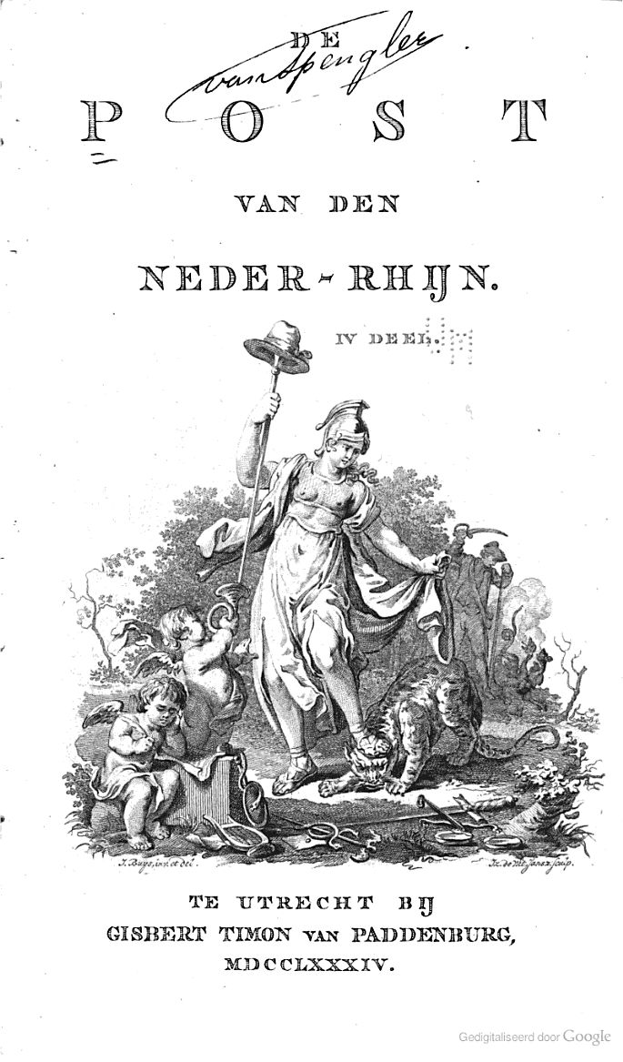 De Post van den Neder-Rhijn - Google Boeken