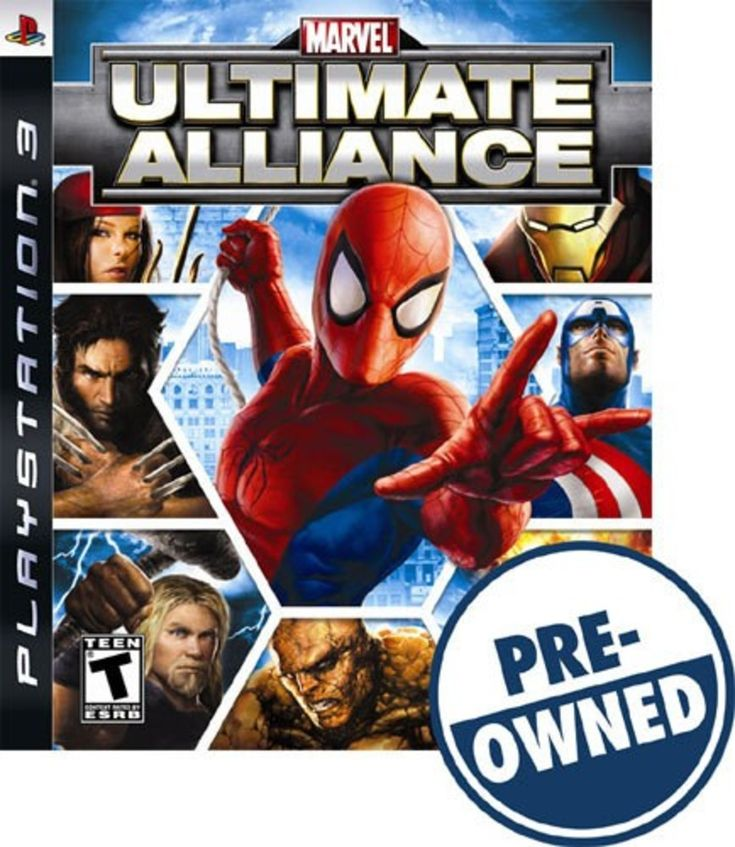 Marvel: Ultimate Alliance — PRE-Owned - PlayStation 3