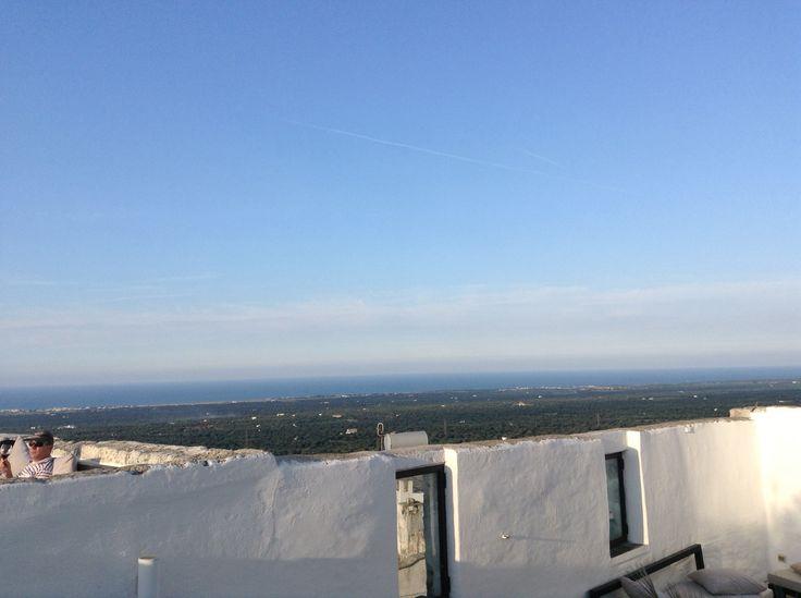 Terrazza panoramica Relais La Sommità Ostuni
