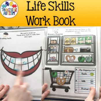 This resource contains an adapted work folder that targets a range of different life skills for your students. ★ 20 activities included. ★ This resource also comes with 2 different levels for the grocery shopping/payment pages as well as girl/boy options for