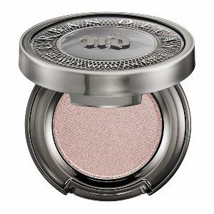 Urban Decay Eyeshadow in Midnight Cowboy - pink champagne shimmer with silver glitter #sephora