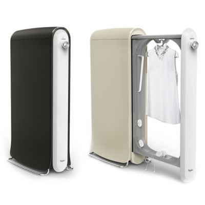 SWASH Express Clothing Care System - BedBathandBeyond.com. Reduces need for dry cleaning by 50%. Removes wrinkles, neutralizes odors, and is safe for most fabrics.