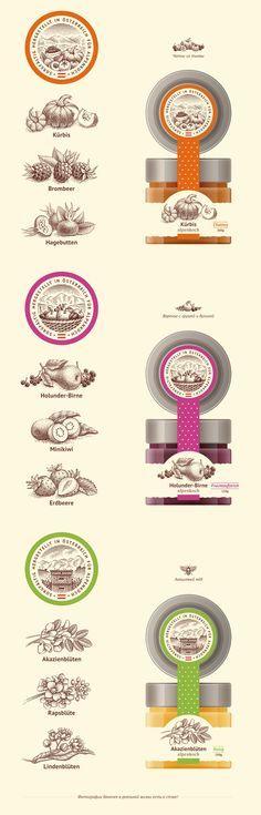 Чатни, варенье и мёд, Label © Ирина Трусова