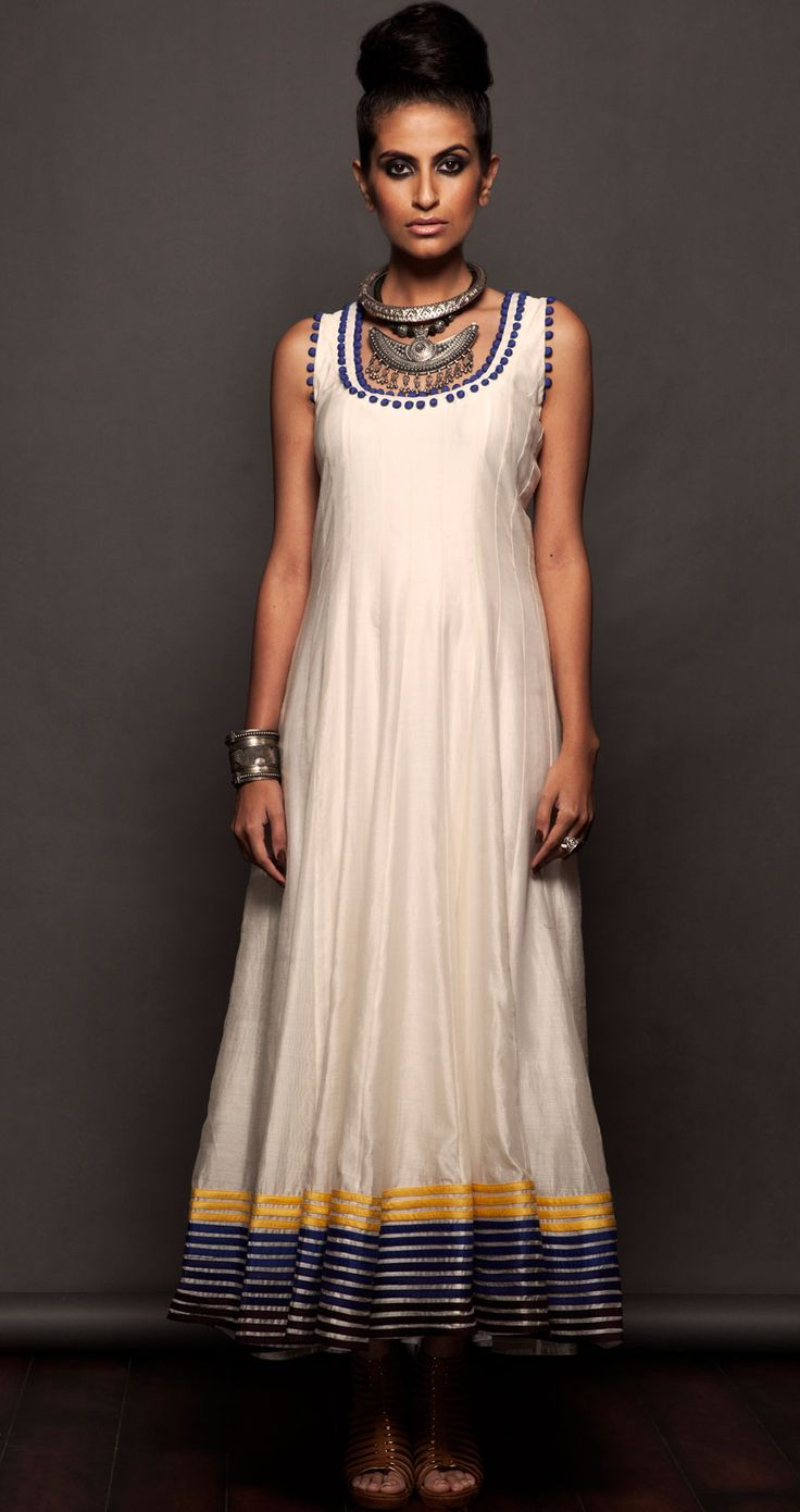 white sleeveless maxi available only at Pernias pop-up shop.